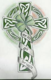 celtic cross with shamrock search me