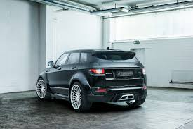 land rover evoque custom 2017 range rover evoque tuned up by hamann drivers magazine