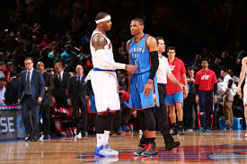 Carmelo Anthony Bench Press Okc Thunder In The News Warm Welcomes And Sad Farewells