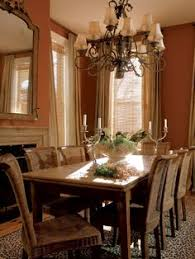 Red Room Design Ideas All Rooms Photo Gallery Wood Table - Burnt orange dining room