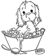 cartoon puppy dog coloring page free coloring pages online