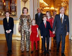 royal family around the world belgian royal family attends