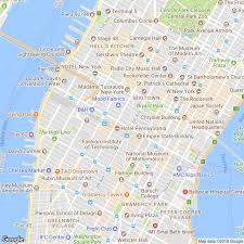 New York Manhattan Map Official Nyc Information Center At Macy U0027s Herald Square The