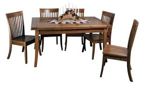 Amish Dining Tables Greene Prairie Woodworks Dining Amish Dining Tables Stowaway