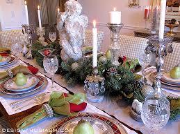 christmas dinner table setting christmas dinner holiday home tour
