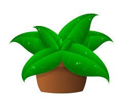 Pot Flag Clipart Plants In Pot