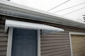 Exterior Door Awnings Awning Aluminum Kit White 46 Wide X 36 Droop X 12