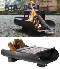 Backyard Fire Pit Grill by 35 Metal Fire Pit Designs And Outdoor Setting Ideas