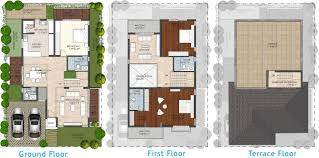 Drawing Floor Plans In Excel Excel Oxigen Sports Villas In Sarjapur Bangalore Price