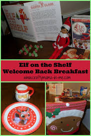elf on the shelf thanksgiving elf on the shelf welcome back breakfast crafty mama in me