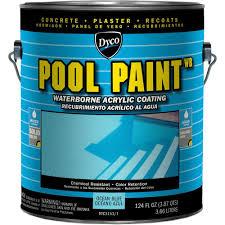 dyco paints pool paint 1 gal 3151 ocean blue semi gloss acrylic dyco paints pool paint 1 gal 3151 ocean blue semi gloss acrylic exterior paint