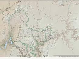 Grand Canyon Arizona Map by Parashant