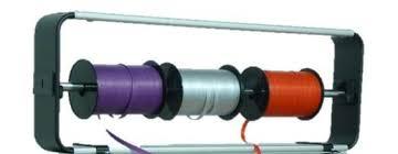 ribbon dispenser curling ribbon dispenser with stacking brackets holds 4 spools