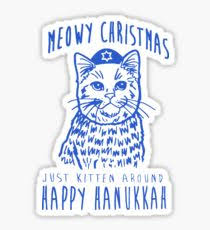hanukkah stickers hanukkah drawing stickers redbubble