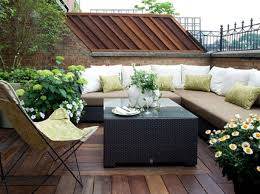 Rooftop Patio Design How To Make A Small Outdoor Space Feel Large