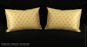 custom silk modern decorative pillows choose size trim and velvet