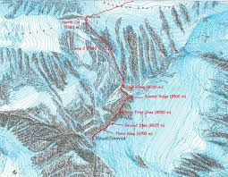 Mt Everest Map Everest 2016 U2013 The Route U2013 Dutch Everest 2016
