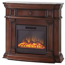 shop style selections 42 in w 4 800 btu sienna wood corner or wall