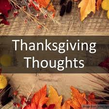 am thanksgiving thoughts great oaks church of