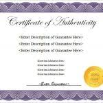 free printable certificate of authenticity templates imts2010 info