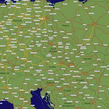 France Rail Map by Czech Republic Rail Travel Map European Rail Guide