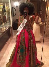 bullied teen kyemah mcentyre designs african inspired prom dress