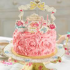 birthday cake decorations truly scrumptious birthday cake decorations party parade