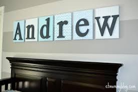 Diy Baby Decor Diy Nursery Wall Letters Ct Mommy Blog