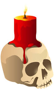 halloween png halloween skull candle png clipart image gallery yopriceville