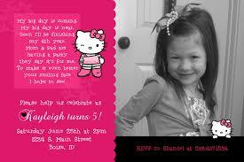 Hello Kitty Birthday Invitation Card Kayleigh U0027s Kreations Hello Kitty Birthday Invitation For My