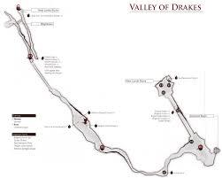 Dark Souls Map Image Valley Of Drakes Map Png Dark Souls Wiki Fandom