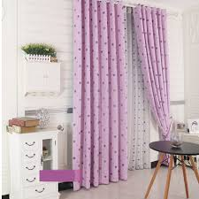 Blackout Purple Curtains Thick Polyester Blackout Purple Curtains
