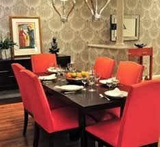 Red Dining Room Chairs DesignCorner - Red dining room chairs