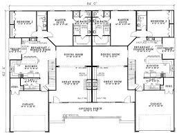 duplex plan chp 21294 at coolhouseplans com duplex triplex more