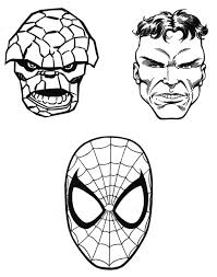coloring pages of superheroes chuckbutt com