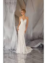 low back wedding dresses mori 6868 moraia low back soft lace wedding dress