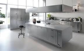 cuisines inox cuisine inox de design élégant et moderne par abimis