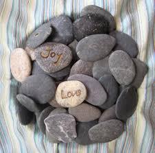 wishing rocks for wedding 20 sale100 small stones diy wedding