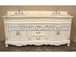 bathroom vanity unit w marble top sink classic