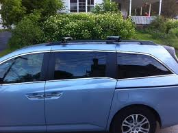 honda odyssey roof rails honda odyssey roof racks for factory siderails car rack advice