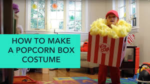 how to make a popcorn box costume easy diy halloween care com