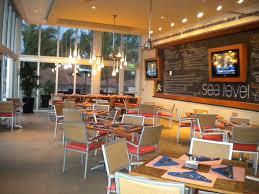 Interior Decorators Fort Lauderdale Dining Room Interior Design Of Sea Level Restaurant And Ocean Bar