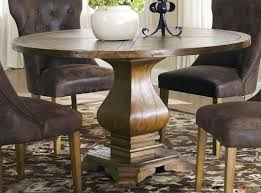 pedestal dining room sets round dining room table sets for 6