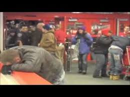 when does the online target black friday shopping start raw video of u0027black friday u0027 shoppers trampled at target store