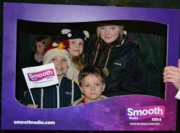 preston christmas lights switch on smooth north west