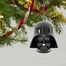 wars darth vader helmet sound ornament keepsake ornaments