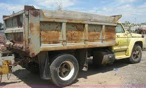 Ford F700 Hood And Fenders - 1979 ford f700 dump truck item h5295 sold august 28 con