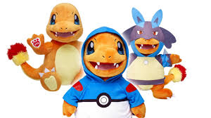 build a bear now offering an adorable charmander more pokemon
