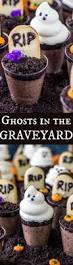Halloween Cake Graveyard by Ghosts In The Graveyard Dessert Shooters Sugar Spun Run