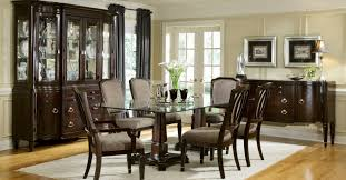 glass dining room table sets furniture glass top dining table sets mesmerizing glass dining
